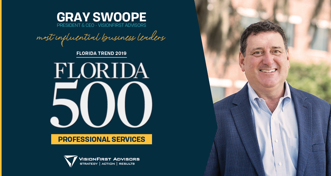 Gray Swoope Selected as one of Florida's 500 Most Influential