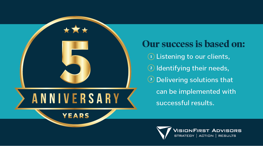 VisionFirst Celebrates 5 Years